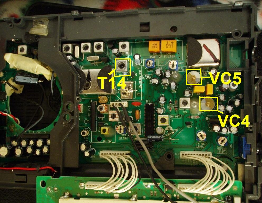 ats-909 main board circuitry