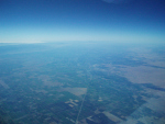 Modesto, CA from 757 at FL330