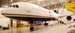 ATA L-1011 Aircraft N164AT in Indianapolis Maintenance Hangar