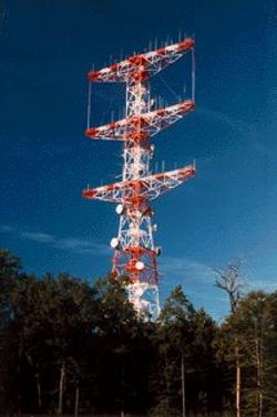 Major Edwin Armstrong\'s Alpine Tower