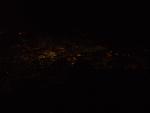 Baghdad at night from ATA 757
