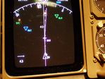 Baghdad on ATA Boeing 757 Navigation Display