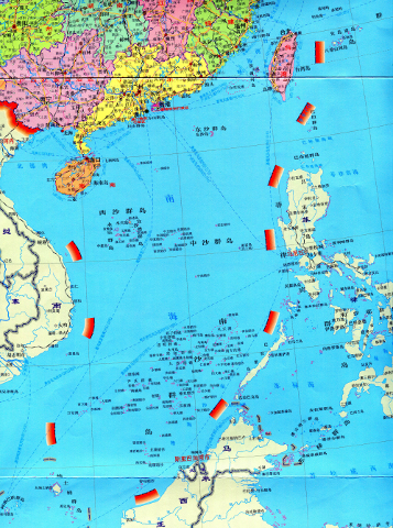china's ridiculous 10 dash line