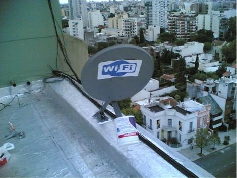 Satellite Dish To Wifi Antenna Converter