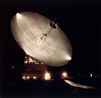 Goldstone Deep Space Network Antenna, apollo unified s band tracking station