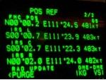 Boeing 767 Crossing equator over Indonesia