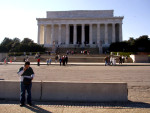 On Layover at Lincoln Memorial, near KDCA