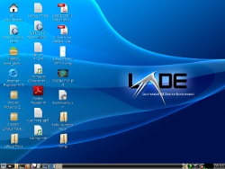 LXDE fast efficient desktop environment in Debian Sidux