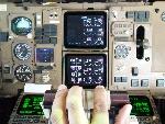 ATA Boeing 757 manual throttles!