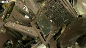 MH17 Copilot CDU Panel