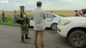 MH17 Separatist Thug Grumpy