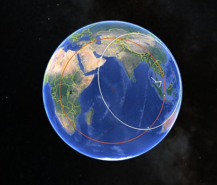 Malaysia 370 Positioning via Inmarsat