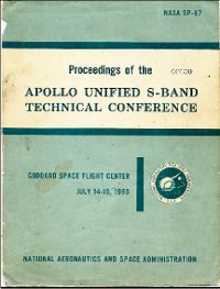 apollo unified s band technical conference