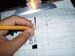 ATA Boeing 757 class ii navigation - oceanic chart plotting