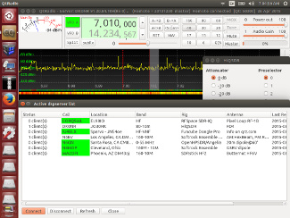 QT Radio in Skywave Linux