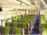Viva Macau Boeing 767 coach class cabin